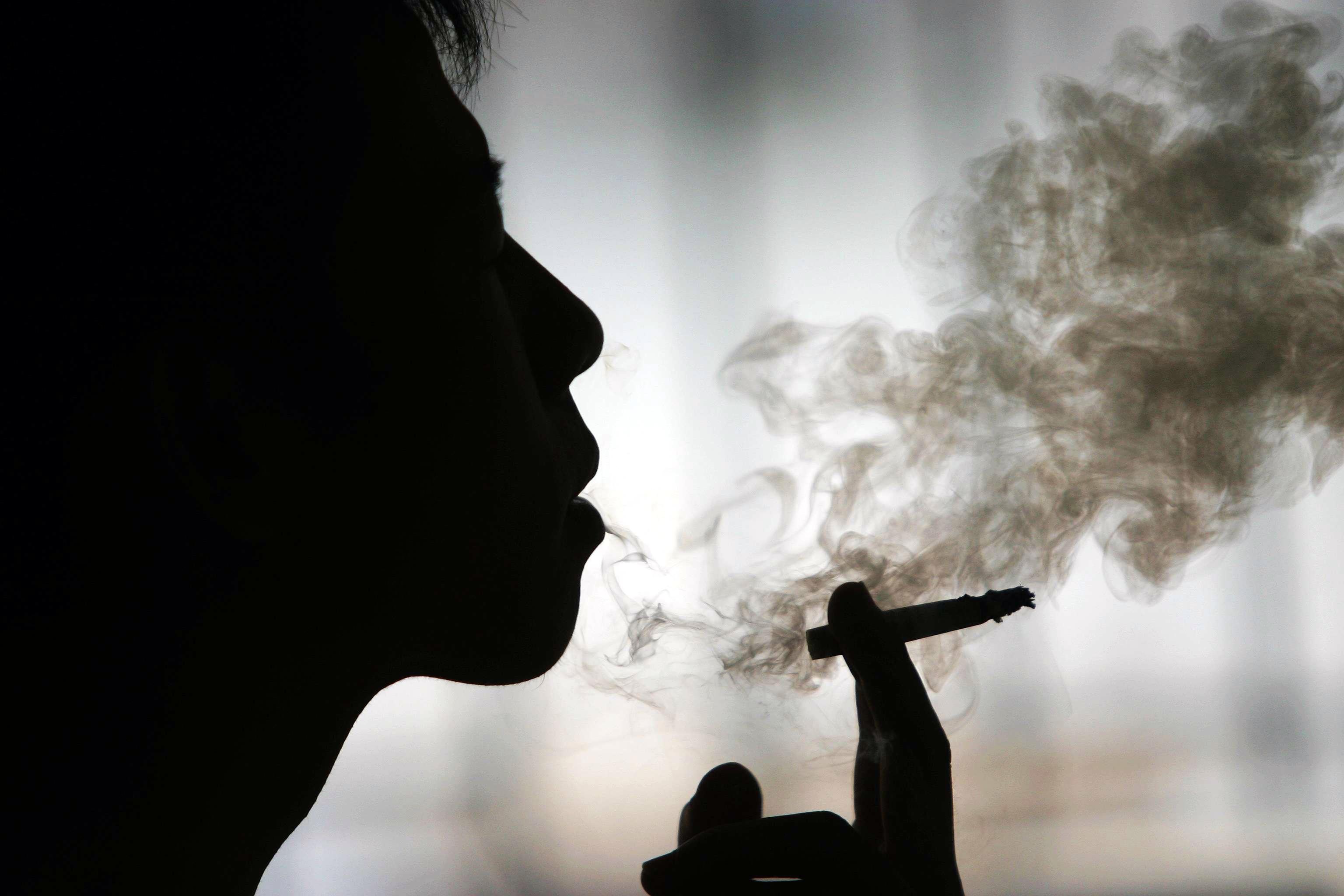 Dejar fumar sin juego del peso